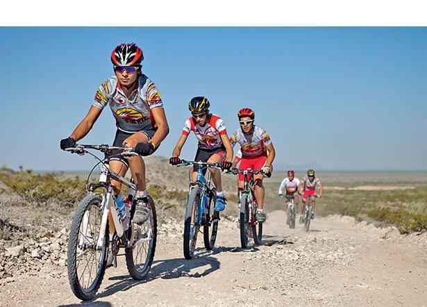 Гонки на горных велосипедах, марафон, горный велосипед