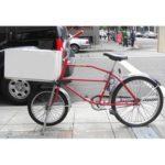 Велосипед для бизнеса, велосипед для доставки пиццы