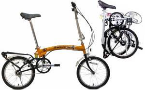 Складной велосипед, складной мини велосипед