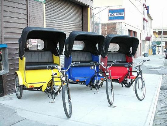 Велорикша, велотакси