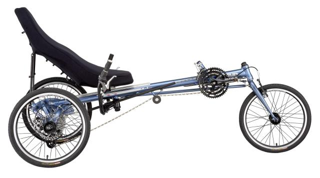 Лежачий велосипед, виды велосипедов, Recumbent bicycle