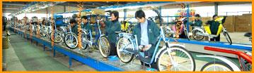 Производство велосипедов в Китае и на Тайване, где делают велосипеды.