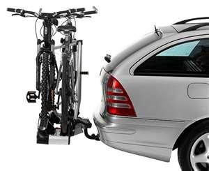 Перевозка велосипеда на автомобиле.