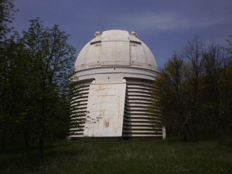 п. Научный. Осерватория.