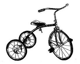 Трёхколёсный детский велосипед ВД - 2.