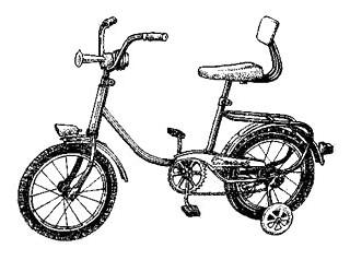 """Детский велосипед """"Зайка - Люкс"""" В-623."""