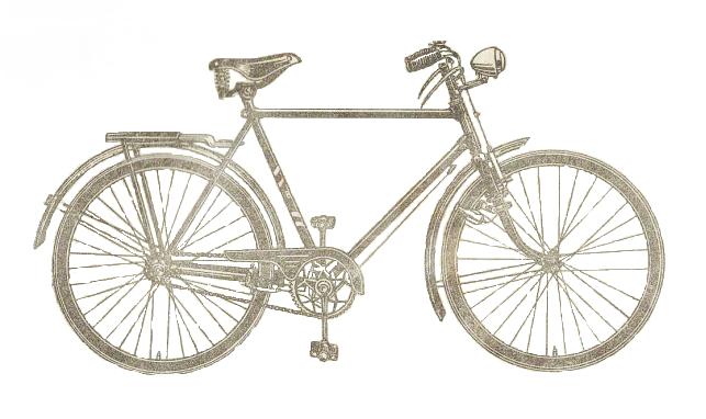 Мужской дорожный велосипед В112М.