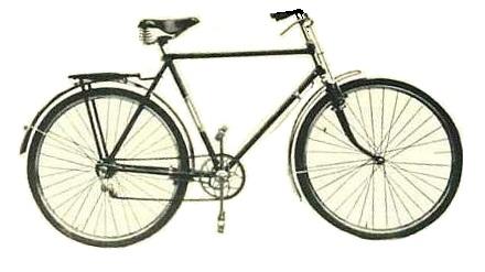 Мужской дорожный велосипед В113.