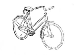 """Велосипед """"Школьник""""."""