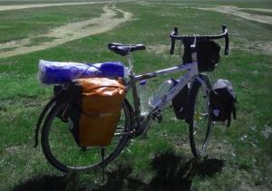 Багажник для велосипеда.