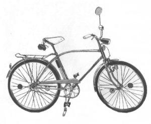 """Велосипеды """"Орлёнок"""" и """"Ласточка""""."""