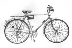 Харьковский велосипедный завод, велосипед Турист.