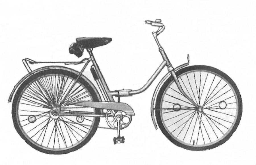 """Дорожный велосипед """"Весна""""."""