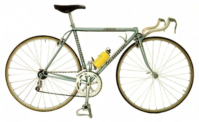 "Спортивно шоссейный велосипед ""Тахион""."