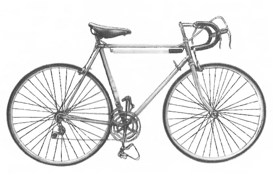 """Велосипед спортивно-шоссейный """"Старт - Шоссе"""" модель 155-411."""