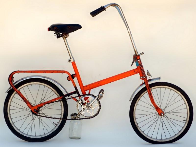 """Складной велосипед для подростков 172-121 """"Эврика-2""""."""
