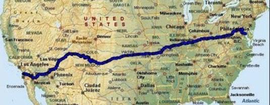 Веломарафон через Америку Race Across America.