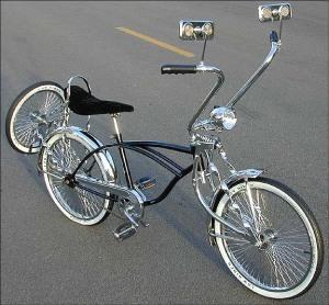 Велосипед лоурайдер.