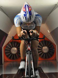 Аэродинамические тесты в велоспорте.