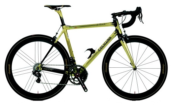 Золотой велосипед Эрнесто Кольнаго.