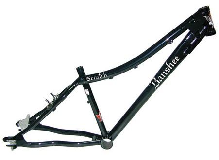 Гидроформинг при производстве велосипедных рам.