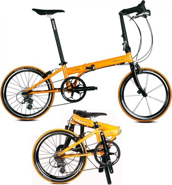 Складные велосипеды Dahon.