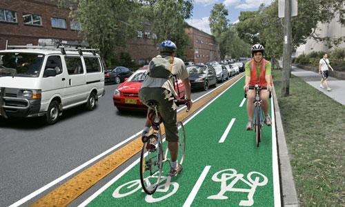 Дороги для велосипедистов.