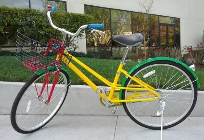 Корпоративный велосипед Google.