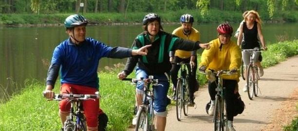 Велотуризм в Чехии.