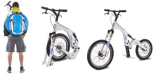 Безпедальный велосипед для даунхилла.