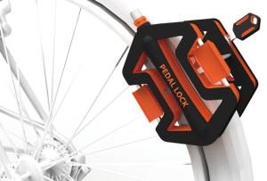 Противоугонная система для велосипеда Pedal Lock.