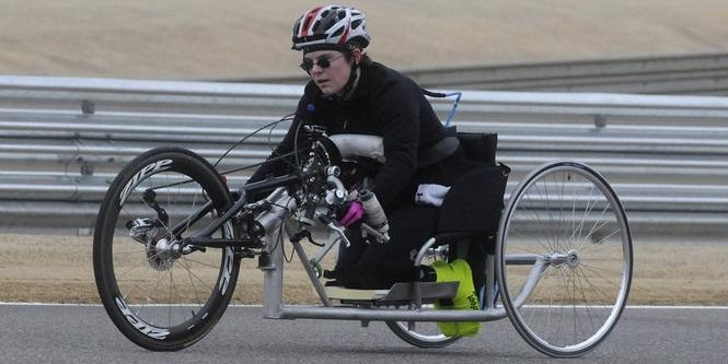 Параолимпийский велоспорт.