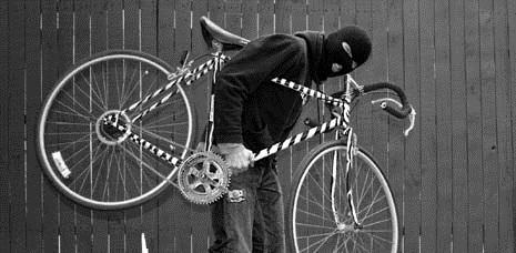 Воровство велосипедов.