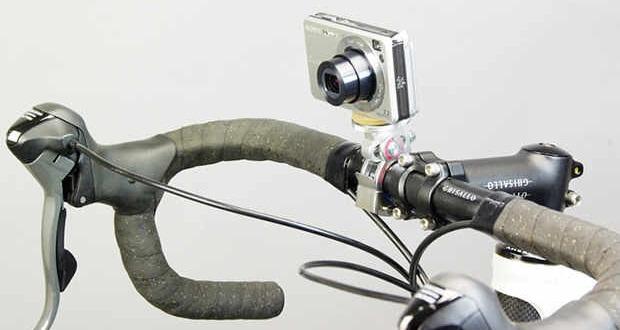 С фотоаппаратом на велосипеде (Flash Cross).
