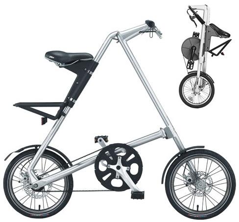 Складные велосипеды STRIDA.