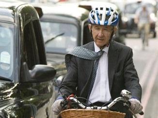 На велосипеде на работу (коммьютинг).