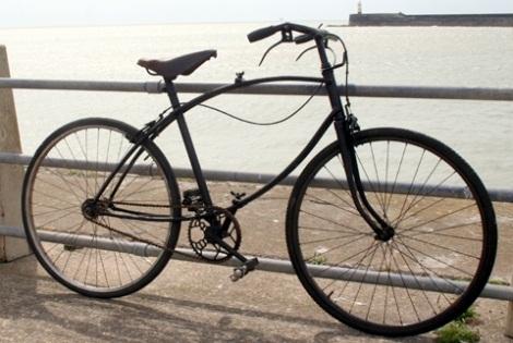 Велосипед, который открывал второй фронт.