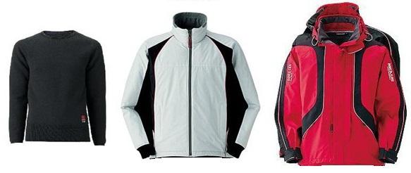 Многослойная одежда для занятий спортом.
