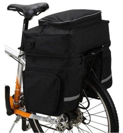 Оптимальный вес багажа на велосипеде.