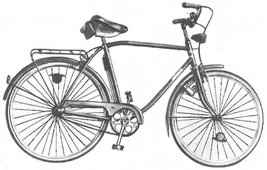 """Велосипед дорожный для взрослых """"Бриз"""" 111-531."""