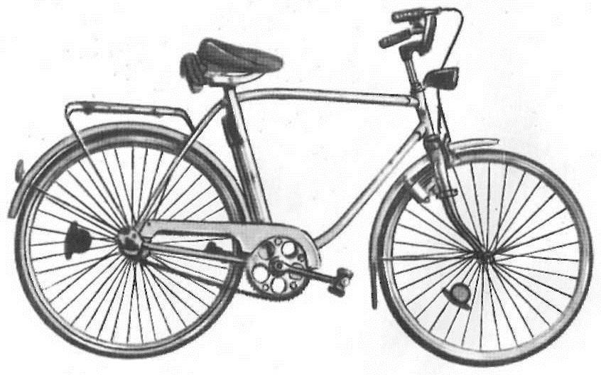"""Велосипед дорожный рамой """"Темп-2"""" 111-532."""
