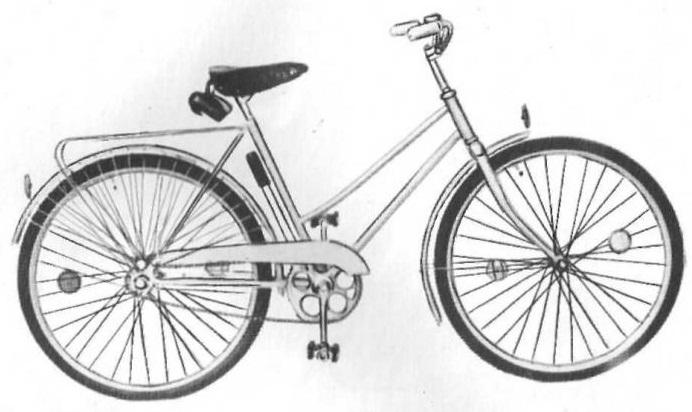 """Велосипед для подростков """"Рябинка"""" 172-711."""