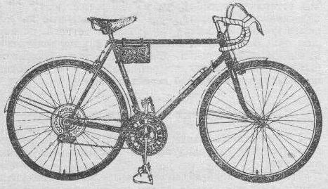 Велосипед спортивно – туристический 153-411.