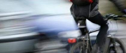 Поведение велосипедиста на дороге.