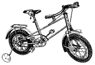 Детский двухколёсный велосипед КВД.