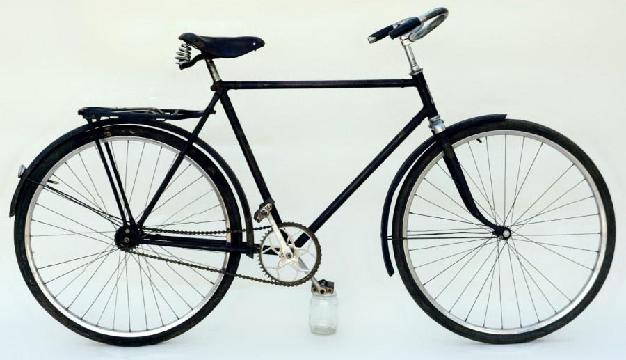"""Мужской дорожный велосипед В 110 – ЗИС """"Прогресс"""" 1952."""