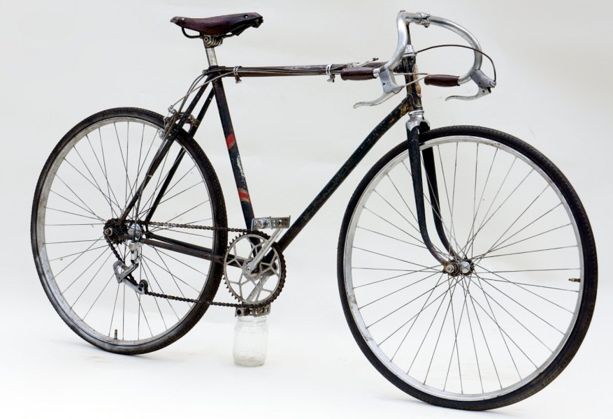 """Легкодорожный велосипед В-32 """"Турист""""."""