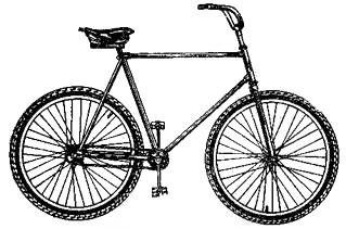Фигурный велосипед В-912