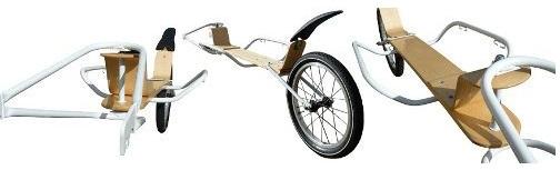 Современные прицепы для велосипедов. Beez de Nicolas Abeillon.
