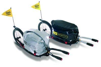 Современные прицепы для велосипедов. Monoporter Weber.